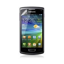 Housse coque étui gaufré pour Samsung Wave 3 couleur noir + Film protecteur
