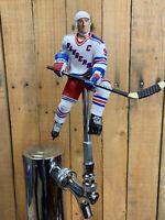 New York Rangers Tap Handle for Beer Keg Wayne Gretzky NHL Hockey White Jersey