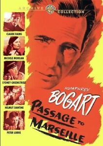 PASSAGE TO MARSEILLE  - DVD sealed & UK Compatible