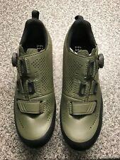 Fizik X5 Terra, MTB Cycling Shoe, Green, EU 39