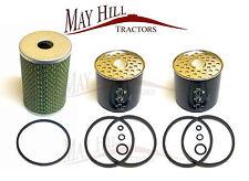 Massey Ferguson 135,148 Tractor Oil + Fuel Filter Set