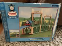 Tomy Thomas The Tank Engine Trackmaster Suspension Bridge Plus Extra Track