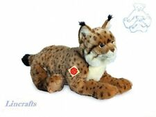 Lying Lynx Plush Soft Toy Wildcat by Teddy Hermann Collection. 90467