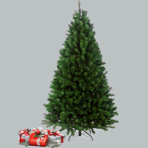 ARTIFICIAL GREEN COLORADO PINE CHRISTMAS/ XMAS TREE THICK BUSHY METAL STAND