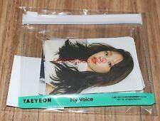 TAEYEON GIRLS' GENERATION MY VOICE SMTOWN COEX Artium SUM GOODS STICKER PACK SET