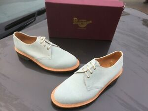 Dr Martens 1461 white zucchero leather UK 9 EU 43 Made in England