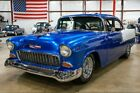1955 Chevrolet Bel Air/150/210  1955 Chevrolet 210  29283 Miles Blue & White Hardtop 454ci V8 Automatic