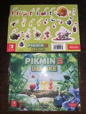 Sticker Set + Microfibre Cloth (Pikmin 3 Deluxe) • Nintendo Switch (NO GAME)