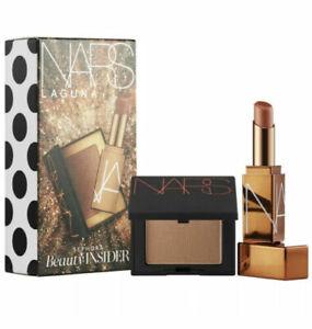 Sephora Birthday Gift Set 2021 NARS Laguna Mini Bronzer and Lip Balm ~ Brand New