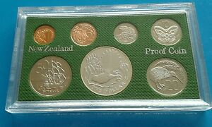 1980 NEW ZEALAND PROOF COIN SET