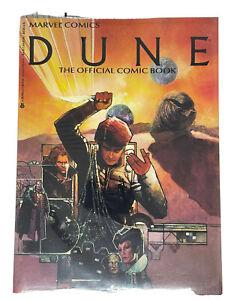 Marvel Comics Dune The Official Comic Book Vol 1 No 1 1984