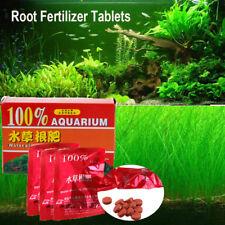 36Pcs Water Plant Root Fertilizer Plants Aquarium Fish Tank Aquatic Cylinder