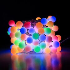 LE 10m 100 LEDs Globe String Lights RGB Fairy Starry Light Outdoor Garden Party