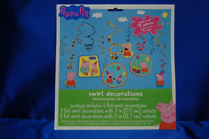 Peppa Pig Party Set # 11 Plates Napkins Tablecover Banner Invite Game FOR 16- 24