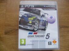 Gran Turismo 5 Academy Edition-el simulador de conducción real PS3 Juego