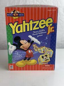 Mickey Mouse Yahtzee Jr Milton Bradley Disney 1998 Complete Vintage