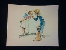 Nice Norman Rockwell Print  by Brown & Bigelow
