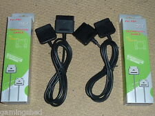 2 X Playstation 1 2 PS1 PS2 controller extension cable Brand New Boxed Lead paire