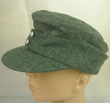 WWII German WH EM wool panzer M43 field cap hat L-cap23
