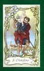 SANTINO SAN CRISTOFORO IMAGE PIEUSE - HOLY CARD SANTINI