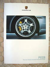 PORSCHE OFFICIAL 911 GT2  997 TURBO CERAMIC BRAKE BROCHURE 2005 USA EDITION
