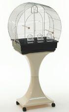 Gabbia Gabbie uccelli canarini, inseparabili piedistallo supporto ruote h129 cm