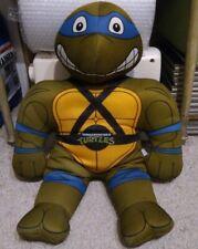 Playmates Toys 1992 TEENAGE MUTANT NINJA TURTLED leonardo Plush Practice Pal 90s