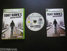 JEU Microsoft XBOX 360 : TONY HAWK'S PROVING GROUND (Activision COMPLET suivi)
