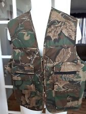 Northwest Territory CAMO hunting fishing GAME Vest pouch pockets Mens Large