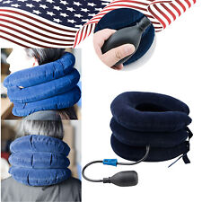 2018 USA Inflatable Neck Stretcher Shoulder Pain Relief Back Tension Traction