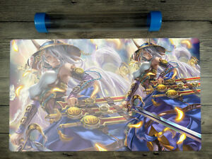 YuGiOh Mat The Iris Swordsoul Trading Card Game CCG Duel Playmat Free Best Tube