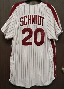 Mike Schmidt Philadelphia Phillies Mitchell & Ness Cooperstown Jersey SZ 56 3XL