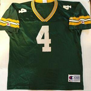 Vintage Champion Brett Favre Jersey Size XL(18-20) Youth Boys Green Bay Packers