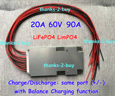 BMS/PCM for 60V (20S) 90A LFP LiFePO4 LimPO4 Battery Pack With Balance Function