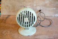 Antique Victor Heater Fan Still Runs green