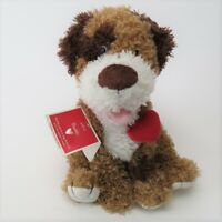 "Hallmark Valentine BUDDY DOG Talking Animated 11"" Plush Stuffed Animal w/Tags"