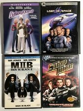 Lot Of 4 Dvd Movies : Galaxy Quest, Lost In Space, Mib 2, Starship Troopers