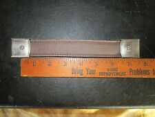 "8"" Brown Leather Strap Amp Handle with 2 square end brackets ~ Marshall JTM45"
