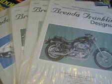 Brenda Franklin Cross Stitch Chart Your Choice- Motorcycle OR Antique Car
