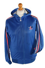 Vintage Adidas Long Sleeve Tracksuit Top Chile62 Tri-colour S Blue - SW1953