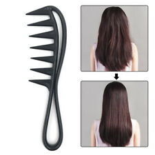 Shark Plastic Comb Hairdressing Wide Tooth Comb Detangling Salon Styling Tool