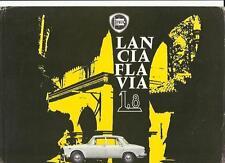 LANCIA FLAVIA SEDAN 1.8 SALES 'BROCHURE'/SHEET ENGLISH LANGUAGE 1963  1964