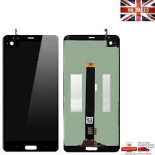 Para HTC U Ultra Pieza Reparación Completa Pantalla LCD Pantalla Táctil Conjunto Negro UK