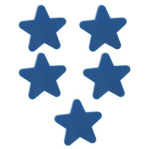 5 x Sternen Formen Möbelknopf Möbelknöpfe Möbelgriffe Griff für Kinderzimmer