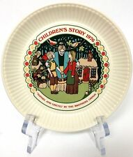 Wedgwood Children's Story 1976 Collector Plate Hansel And Gretel Brothers Grimm
