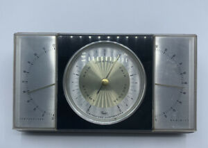 Vintage TAYLOR Instrument Weather Station Temperature / Humidity Barometer