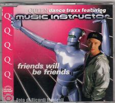 CDS/CDM QUEEN DANCE TRAXX Feat MUSIC INSTRUCTOR - FRIENDS WILL BE FRIENDS