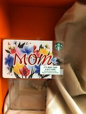 """New Reloadable Starbucks Mother's Day Gift Card """"Empty"""""""