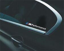 2x BMW /// M Performance Aufkleber Sticker E90 E60 F20 F10 F01 E70 F30 M3 X3 X5