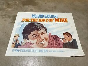 FOR THE LOVE OF MIKE 1960 ORIGINAL PRINT MOVIE POSTER